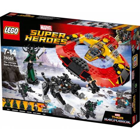 Lego Super Heroes - The Ultimate Battle for Asgard (76084)