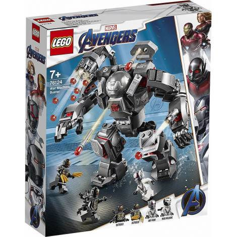 LEGO Super Heroes War Machine Buster (76124)