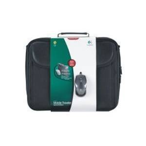LOGITECH MOBILE TRAVELER (LAPTOP CASE) + V100 MOUSE + ANTIVIRUS