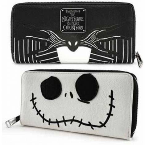 Loungefly - Nightmare Before Christmas Jack Big Face Zip Around Wallet (WDWA0679)
