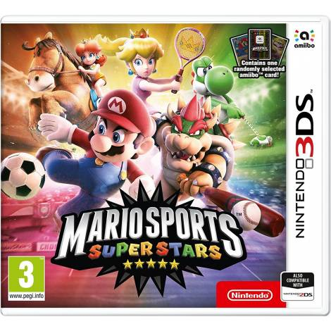 Mario Sports: Superstars + amiibo Card (NINTENDO 3DS)
