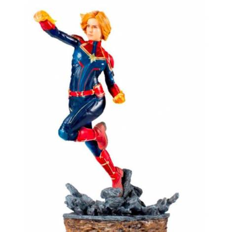 Marvel Comics BDS Art Scale Statue 1/10 Captain Marvel (20cm)