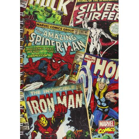 Marvel Comics - Marvel Comics (Montage) A5 Wiro Notebook (SR71639)