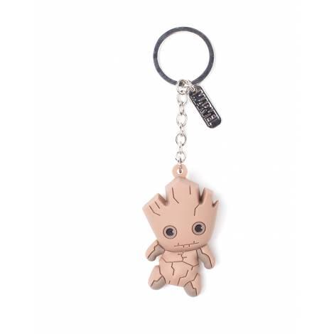 Marvel - Groot Character 3D Rubber Keychain (KE020307GOG)