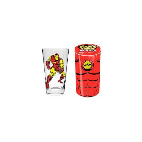 MARVEL IRON MAN GLASS