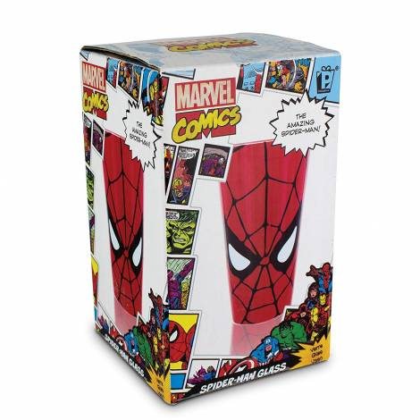 MARVEL IRON SPIDERMAN GLASS