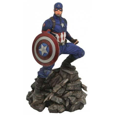 Marvel Premiere Avengers 4 - Captain America Statue (MAY192372)