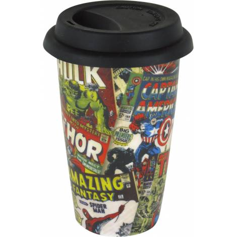 Marvel - Retro Covers Travel Mug (MGT23763)