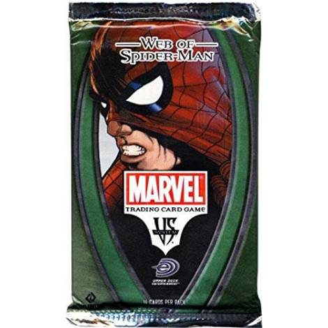 Marvel VS System Trading Card Game Web of SpiderMan Booster Pack 14 Cards by Marvel