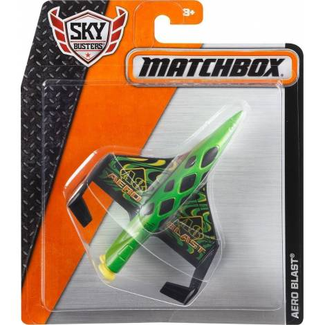 MATCHBOX SKYBUSTERS PLANES - AERO BLAST - GREEN (DKG92)