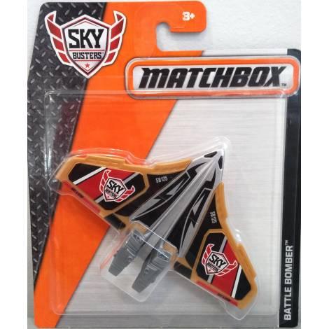 MATCHBOX SKYBUSTERS PLANES - BATTLE BOMBER - GOLD (DKG90)