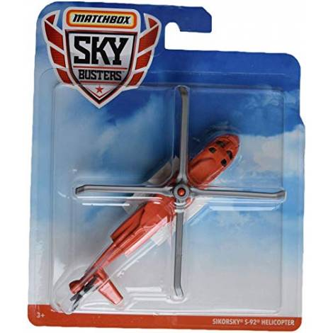 Matchbox Skybusters Planes - Sikorsky S-92 Helicopter (GDY48)