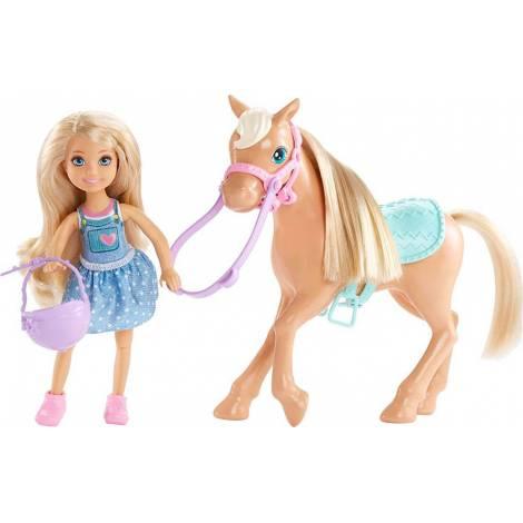 Mattel Barbie Club Chelsea Doll & Horse (DYL42)