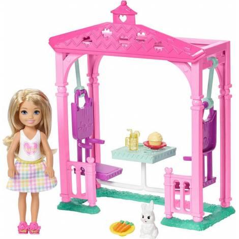 Mattel Barbie Club Chelsea - Picnic Doll Playset (FDB34)