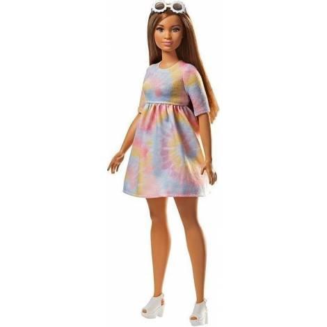 Mattel Barbie Doll - Fashionistas #77 - To Tie Dye For - Curvy Doll (FJF42)