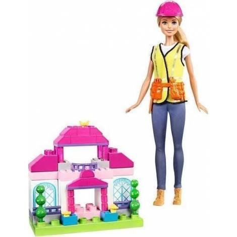 Mattel Barbie Doll Mega Construx - Builder - Build & Rebuild (FCP76)