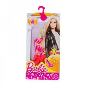 MATTEL BARBIE - FASHION - FASHION PACK - DRESS PINK (CMV44)