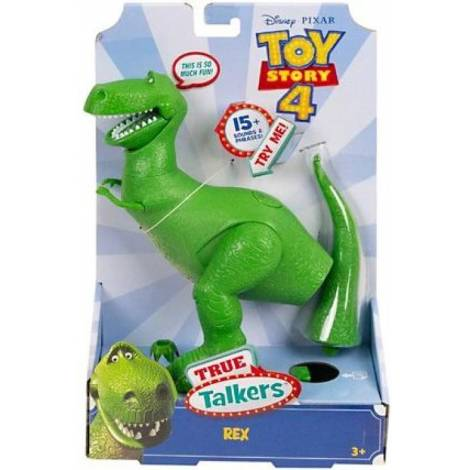 Mattel Disney Pixar Toy Story 4 - True Talkers Rex (GFR16)