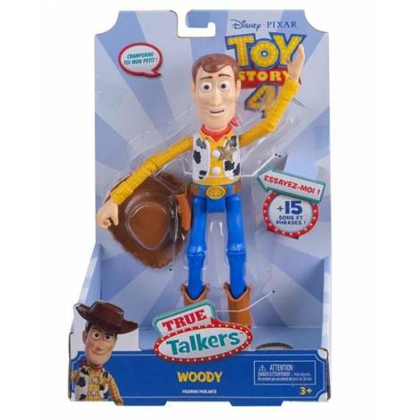 Mattel Disney Pixar Toy Story 4 - True Talkers Woody (GDP83)