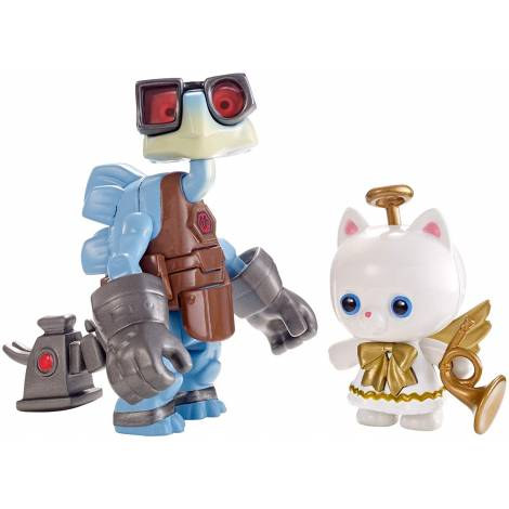 MATTEL DISNEY PIXAR TOY STORY - RAYGON & ANGEL KITTY FIGURES (DPF07)