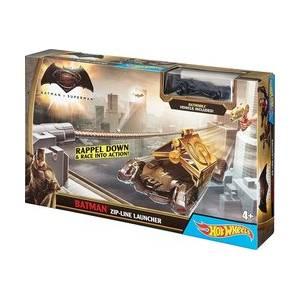 MATTEL HOT WHEELS - BATMAN V SUPERMAN - BATMAN ZIP-LINE LAUNCHER (DPL88)
