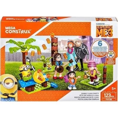 Mattel Mega Construx Despicable Me 3 - Family Luau Party (FHY38)
