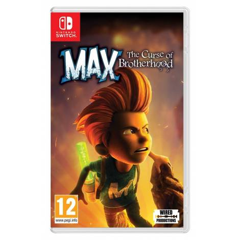 Max The Curse of Brotherhood (Nintendo Switch)
