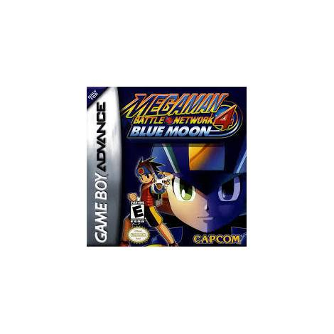 Megaman Battle Network 4 - Blue Moon - χωρίς κουτάκι (GAMEBOY ADVANCE)
