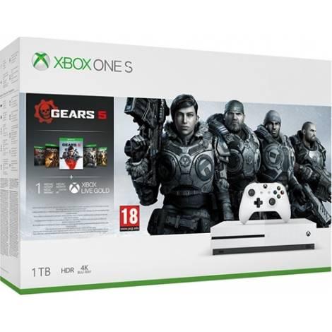 Microsoft Xbox One S 1TB Gears 5 Bundle