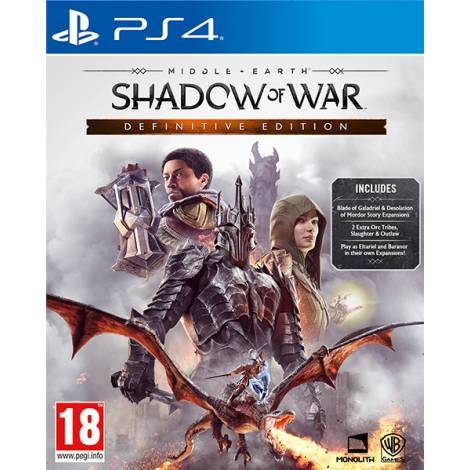 Middle-earth Shadow of War Definitive Edition (PS4)