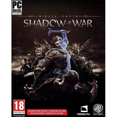 Middle-Earth Shadow of War - Steam CD Key (Κωδικός μόνο) (PC)