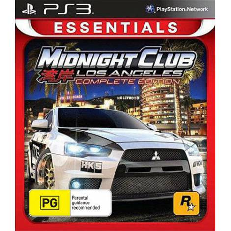 Midnight Club : Los Angeles Complete Edition - Essentials (PS3)