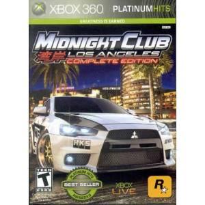 Midnight Club: Los Angeles Complete Edition (XBOX 360)