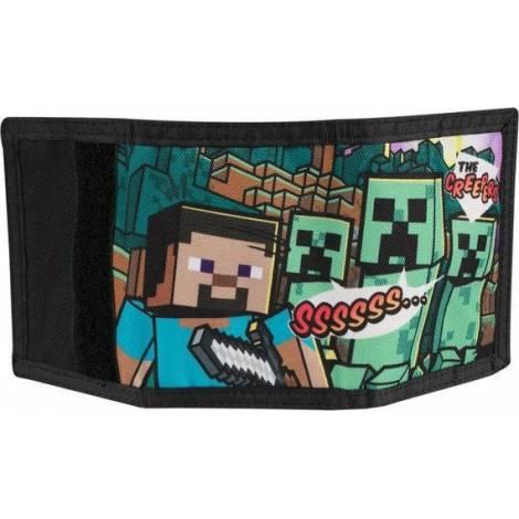 Minecraft Steve Overworld Tri-Fold Wallet (8208)