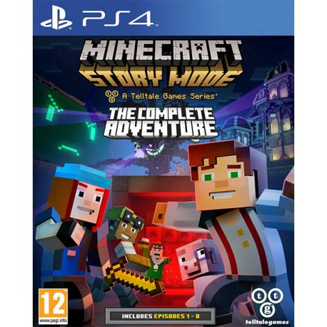 Minecraft Story Mode A Telltale Games Series (PS4)