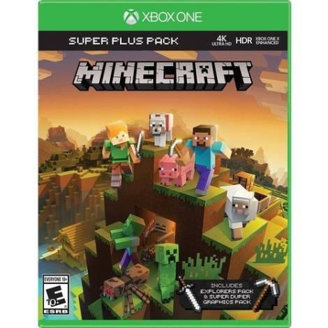 Minecraft Super & Pack (&Explorers & Super Duper Graphics)  (Xbox One)