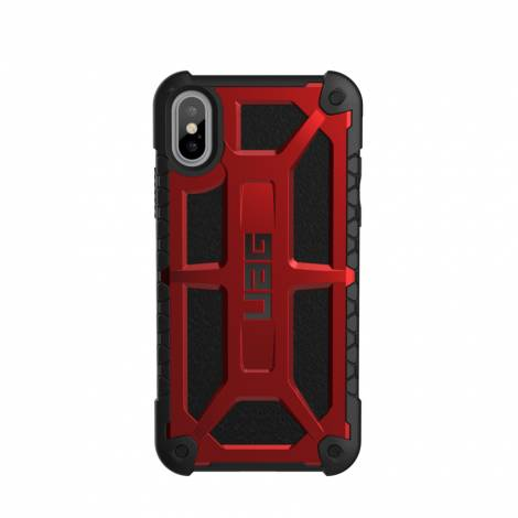 Monarch Case iPhone X Crimson/Black/Black UAG (IPHX-M-CR)