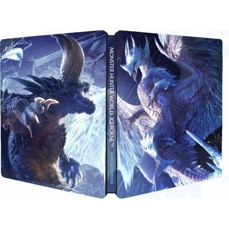 MONSTER HUNTER WORLD - ICEBORN Master Edition Steelbook (PS4)