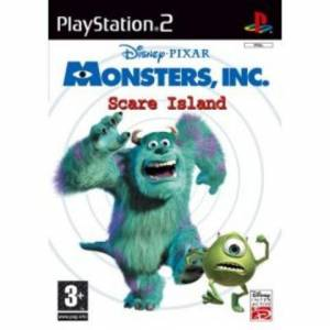 Monsters Inc Scare Island  (CD Μονο)  (PS2)