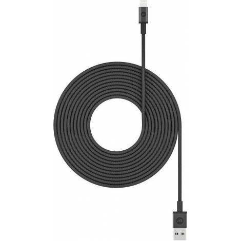 Mophie Charging Cable USB-A / Lightning  – 3 μέτρα black