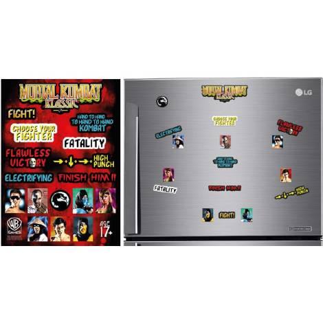 Mortal Kombat - Fridge Magnets