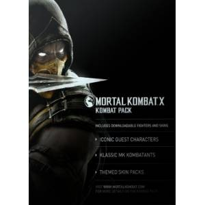 Mortal Kombat X Kombat Pack DLC - Steam CD Key (Κωδικός μόνο) (PC)
