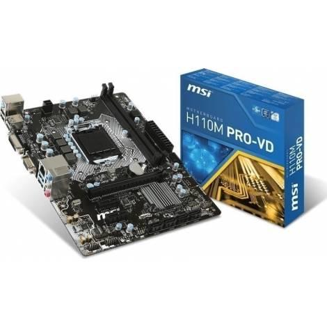 MSI MB H110M PRO-VD
