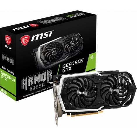 MSI VGA PCI-E NVIDIA GF GTX 1660 ARMOR 6G OC