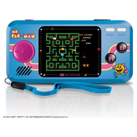 My Arcade Dreamgear Ms Pac-Man Handheld Pocket Player