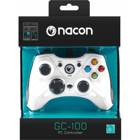 NACON Game Controller White (PCGC-100WHITE) (PC)