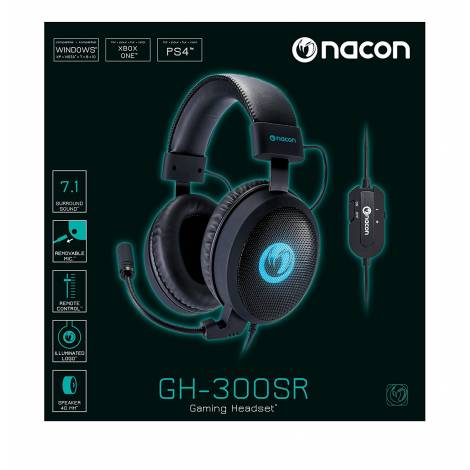 Nacon Gaming Headset (PC,Xbox One,PS4) (PCGH-300SR)