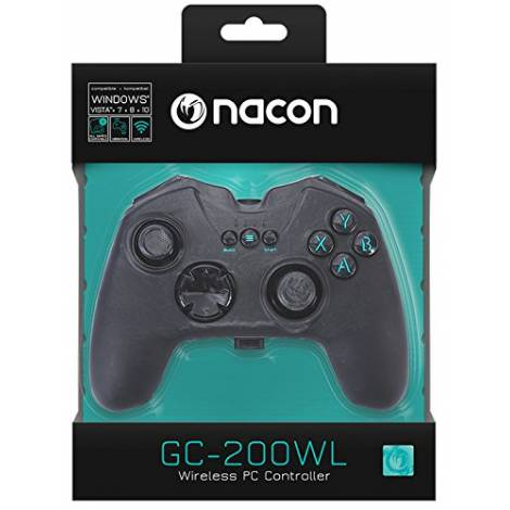 Nacon RF-Gaming Controller  [black] (PCGC-200WL)