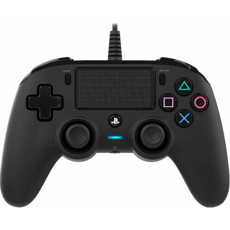 Nacon Wired Compact Controller Color Edition - Black (PS4)