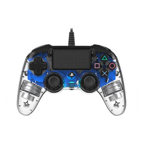 Nacon Wired Controller Crystal Blue (PS4)